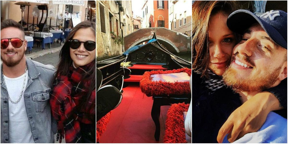 Federico Bal y Barbie Vélez, reconciliación y románticos mensajes en Venecia: La dueña de mi corazón