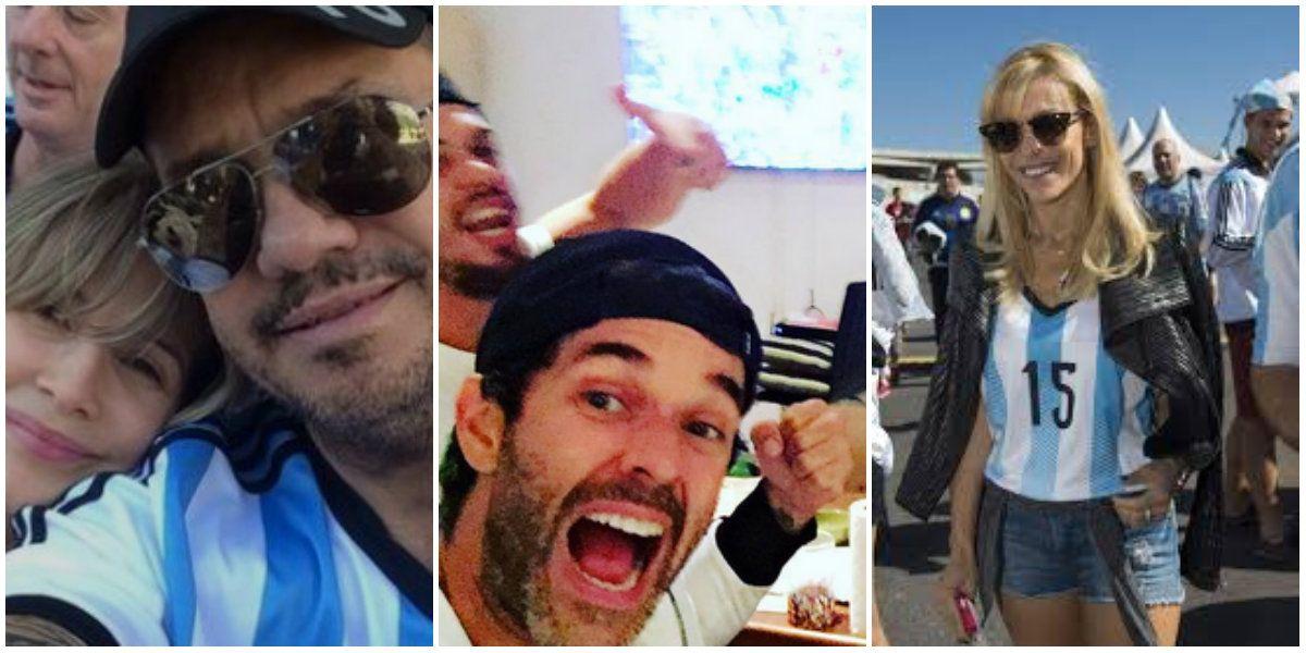 Euforia argentina por el partido de Argentina contra Chile: los tuits de los famosos
