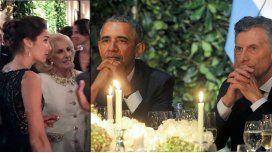 Sigue la polémica por la presencia de Juana Viale en la cena con Barack Obama