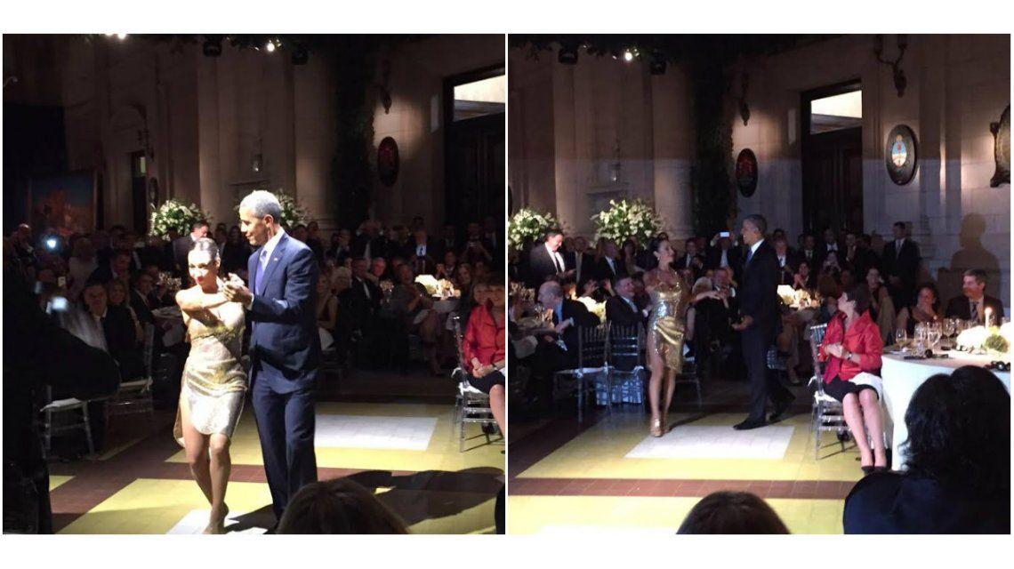 Mora Godoy invitó a bailar tango a Barack Obama en la cena homenaje: Creo que él tenía miedo a que yo empiece con las pataditas