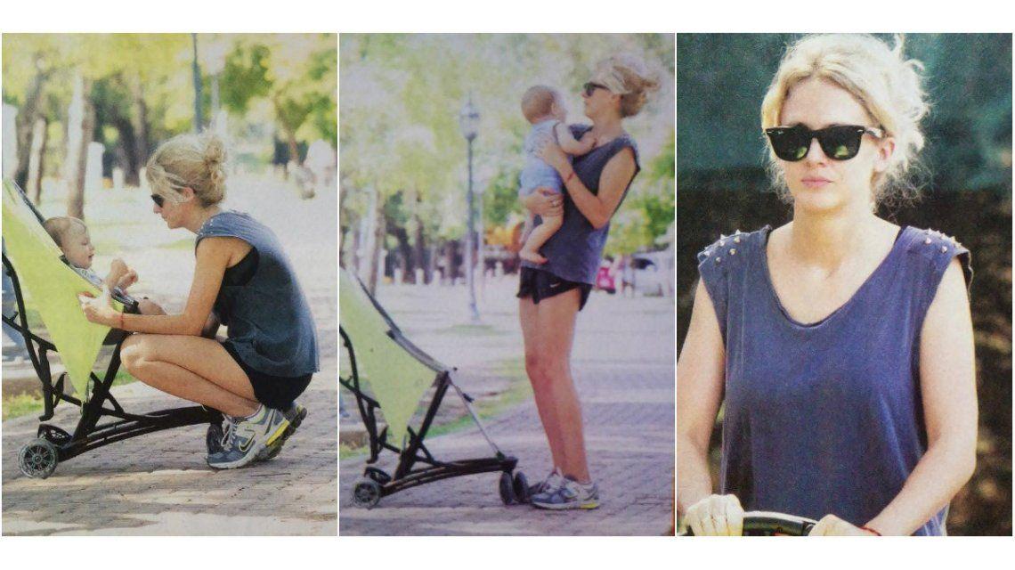 La particular dieta del bebé de Leonora Balcarce: No come postres, le doy quinoa