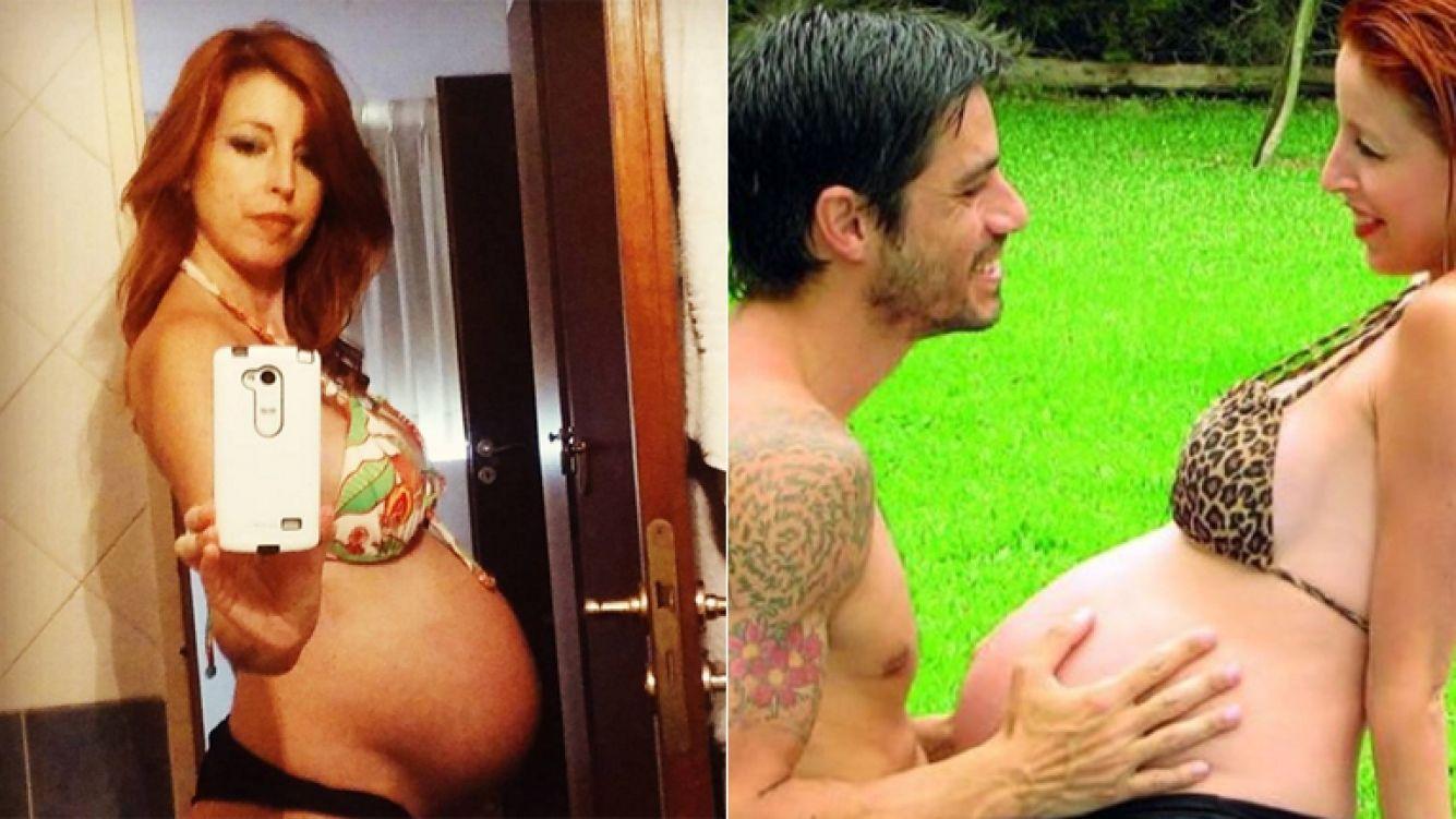 A los 42 años, Anabel Cherubito fue mamá por primera vez