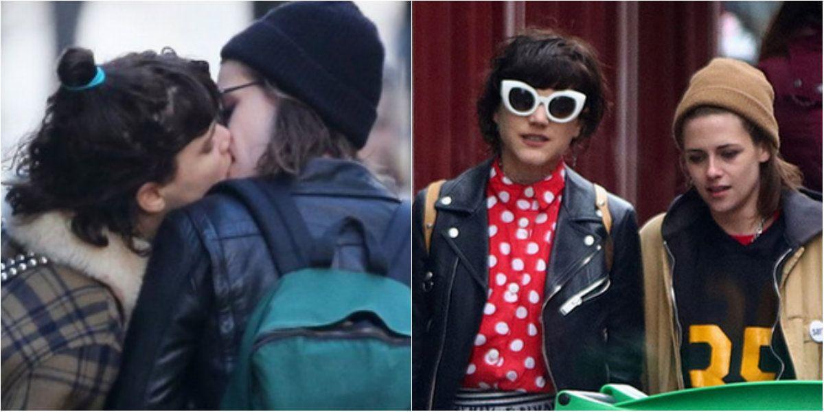 Las fotos de Kristen Stewart con su novia francesa, besándose en Paris