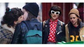 Las fotos de Kristen Stewart besándose en Paris con su novia francesa