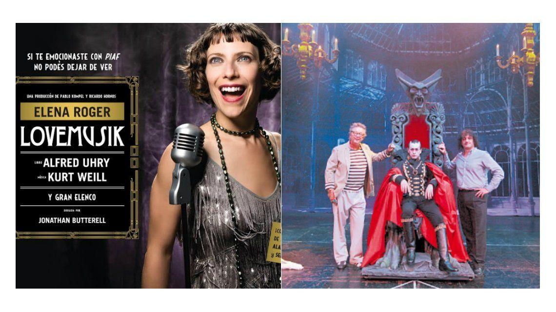 Drácula, el musical y Lovemusik lideran la taquilla porteña