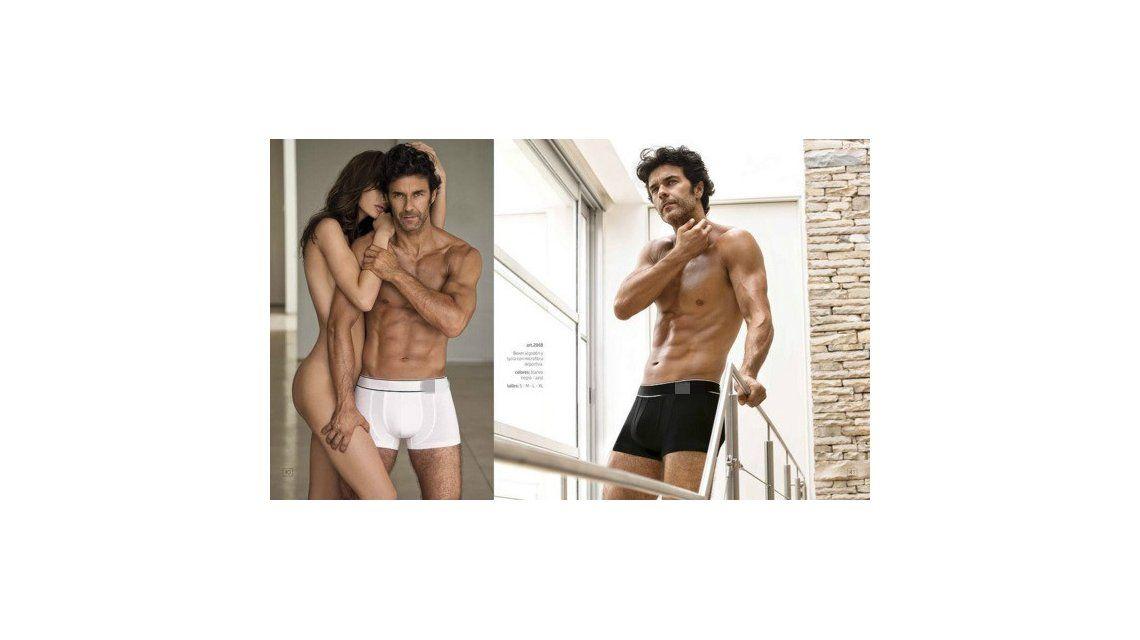 Mariano Martínez publicó una foto ¡muy hot! junto a una modelo desnuda, ¿qué dirá Lali Espósito?