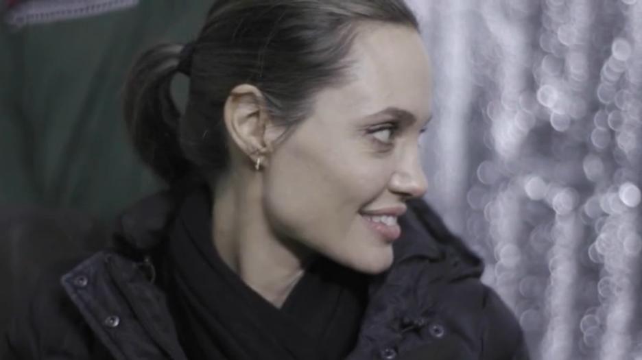 Otro caso que sigue preocupando: Angelina Jolie llegó a los 44 kilos y ya no tiene curvas