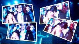 El apasionado beso de Macedo y Urtubey en el recital de Ricky Martin
