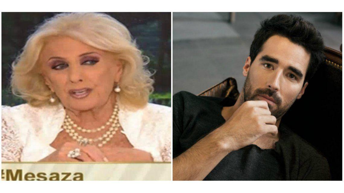 Mirtha Legrand afirmó que Nacho Viale dejó a Pampita: Estoy enojada, me da pena que haya procedido así con esta chica