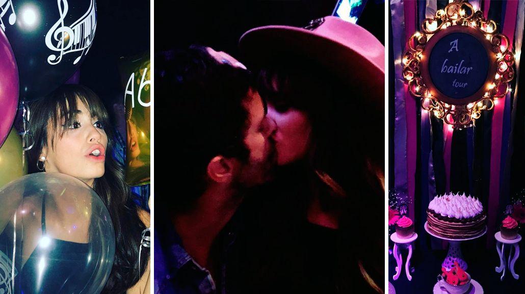 El festejo íntimo de Lali Espósito con Mariano Martínez tras la presentación en el Luna Park