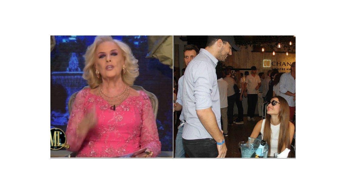 ¿Y ahora? Mirtha Legrand se hizo la desentendido tras la separación exprés de Nacho Viale y Pampita