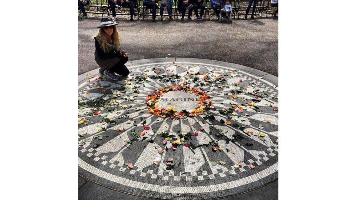Una argentina suelta en Nueva York: mirá el look de Dalma Maradona para recorrer el Central Park