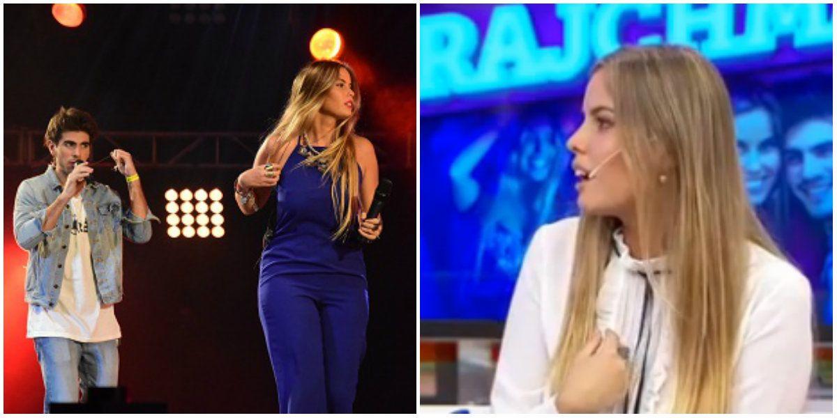 Camila Rajchman contó el punto de quiebre de Rombai: Compartimos escenario con Sole, Abel Pintos y Lali Espósito y nosotros estuvimos lejos de estar como queríamos