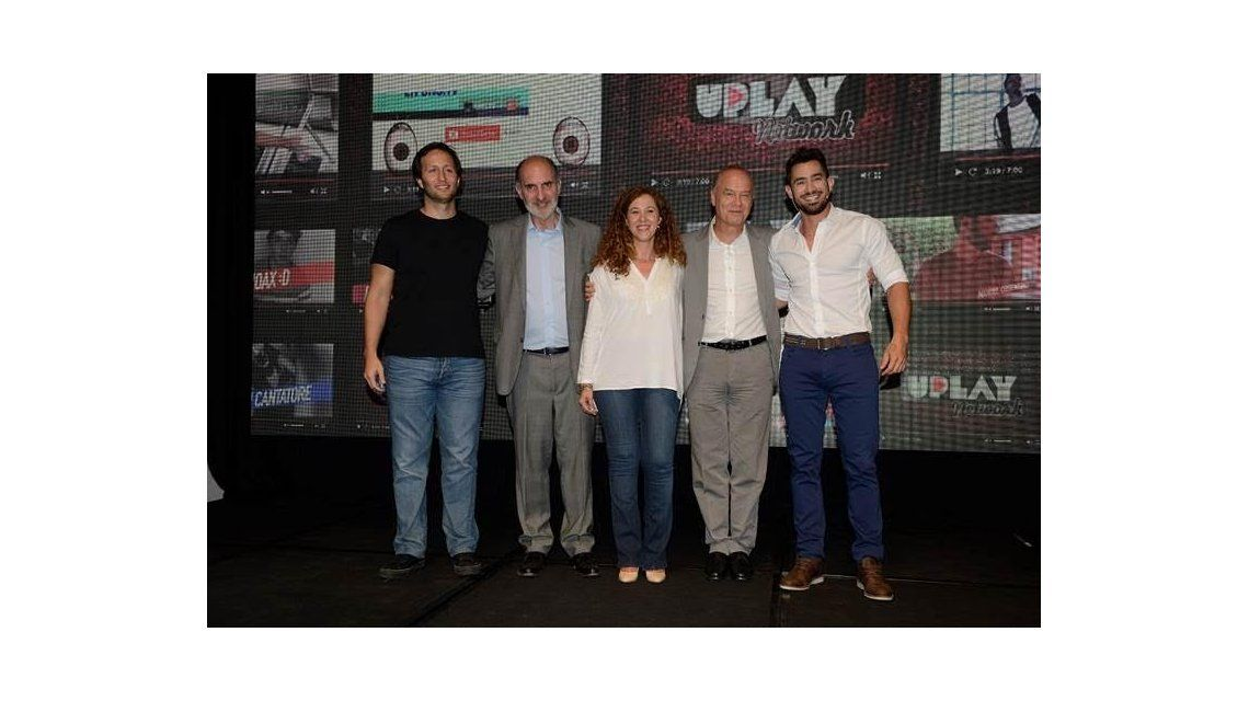 Telefe presentó Uplay Network, un nuevo concepto en contenidos