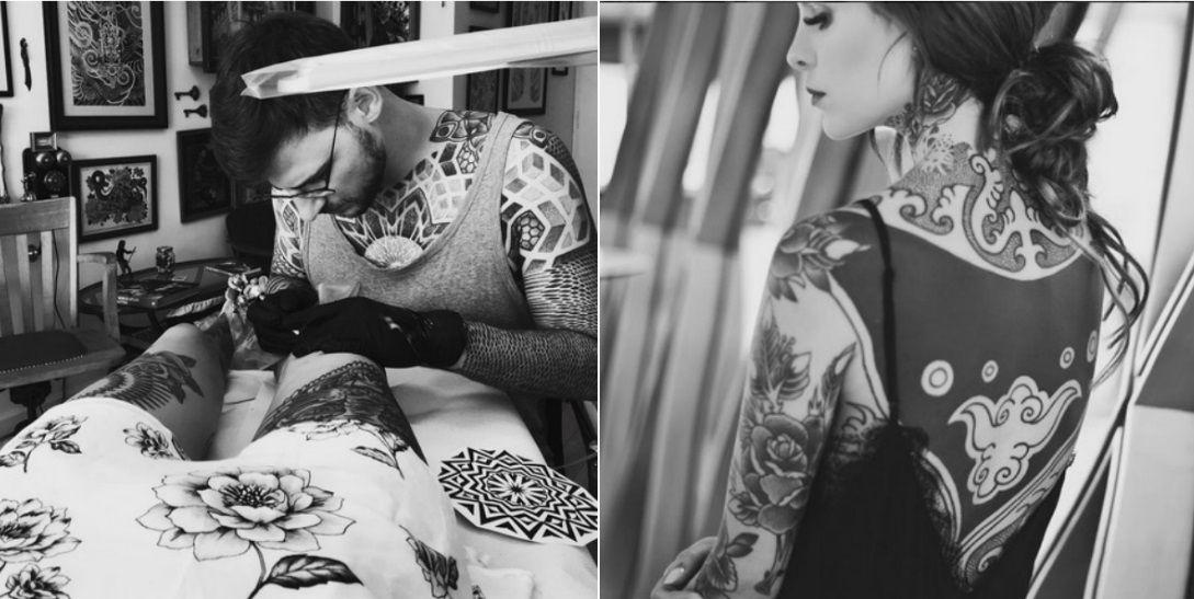 ¡Insaciable! Candelaria Tinelli se hizo un nuevo tatuaje: Voy a hacerme 80 más