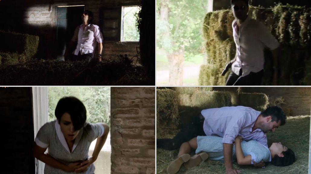 La dramática escena de Los Ricos no piden permiso: Gonzalo Heredia le dispara a Agustina Cherri, que queda al borde de la muerte