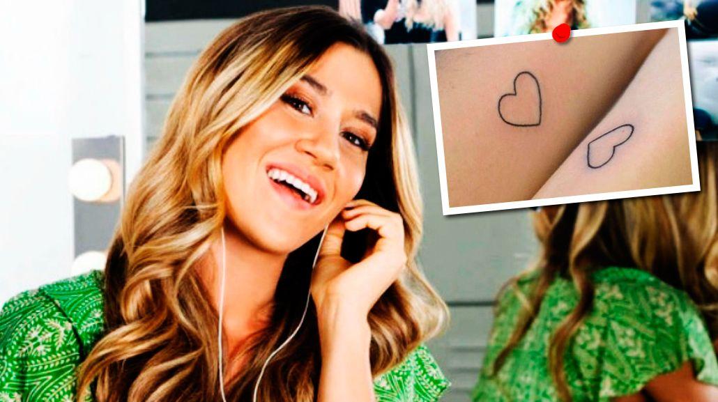 Amor eterno: ¿para quién es el corazón que se tatuó Jimena Barón?