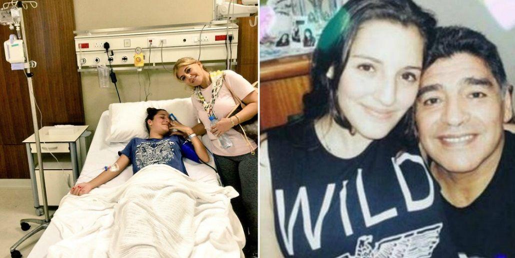 Internaron a Jana Maradona: Tenía una excursión al desierto pero la única que voy a hacer es en el hospital