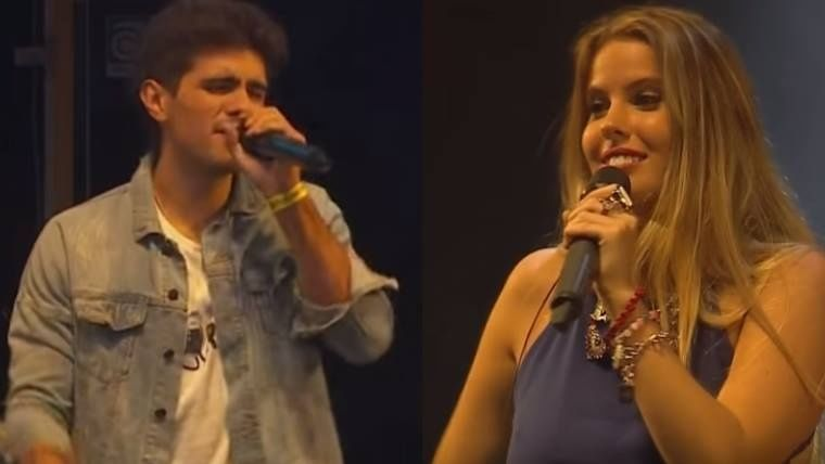 El último recital de la ex cantante de Rombai en Argentina: críticas y desafinaciones