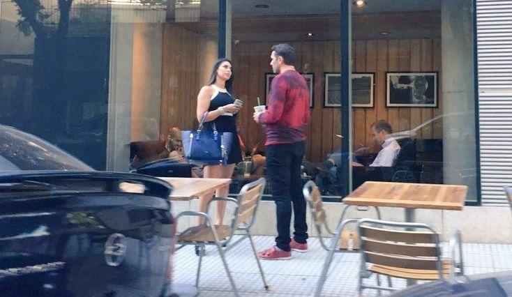 ¡Qué momento! Matías Alé y Sabrina Ravelli se encontraron de casualidad en la calle y...