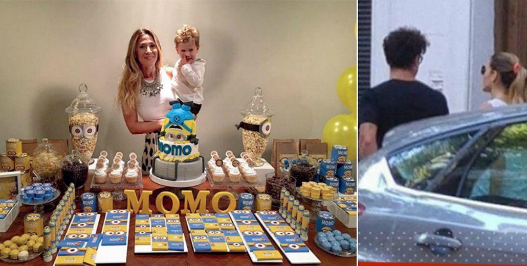 ¿Reconciliados? Jimena Barón y Daniel Osvaldo celebraron juntos el cumpleaños de su hijo Morrison