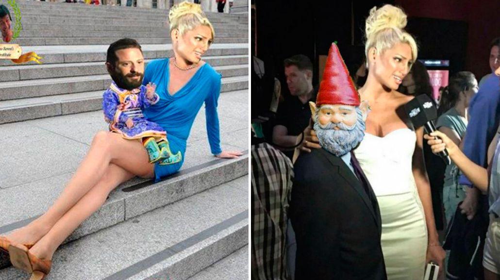 Los memes y las cargadas en Twitter por la diferencia de altura entre Vicky Xipolitakis y José Ottavis