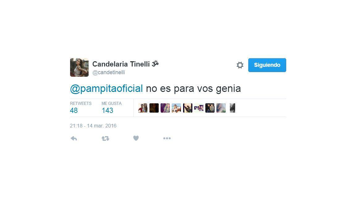 El cruce entre Candelaria Tinelli y Pampita: Parejas que no emparejan, lanzó la hija de Marcelo