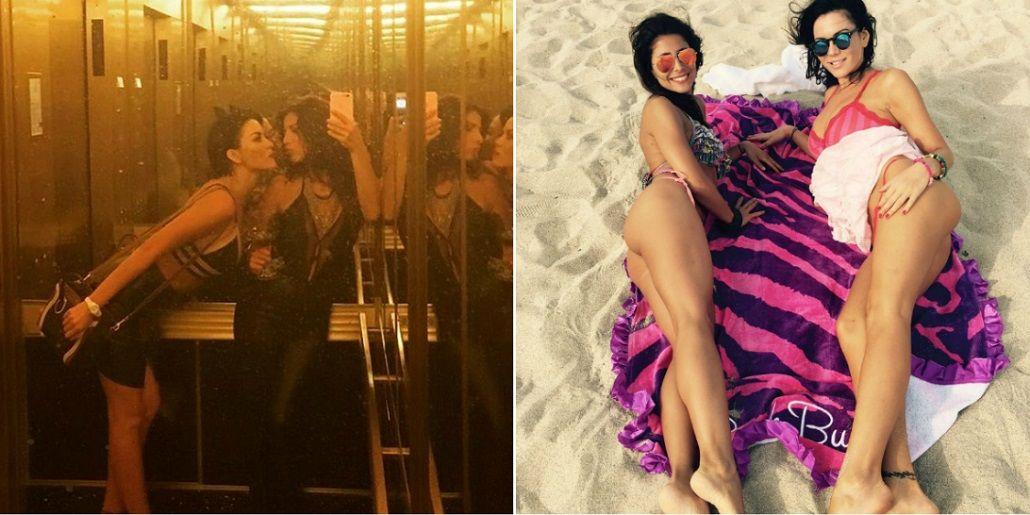 Karina Jelinek y Majo Martino, juntas en Miami: lomazos en la playa y divertidas selfies