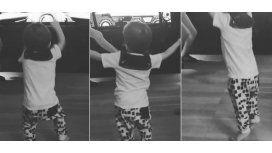 Video: ¿Lolo al Bailando? ¡Mirá cómo se mueve al ritmo de sus hermanas!