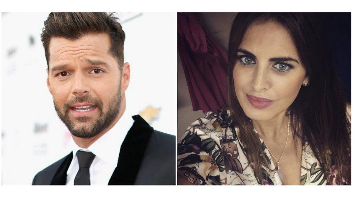 Silvina Luna, cerca de Ricky Martin: detalles del encuentro en Rosario