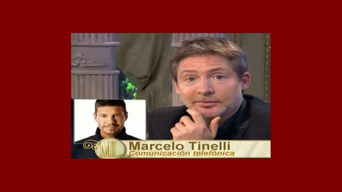 ¡Adrián, teléfono! Marcelo Tinelli llamó al programa de Mirtha ¡y mirá el reclamo que le hizo a Suar!