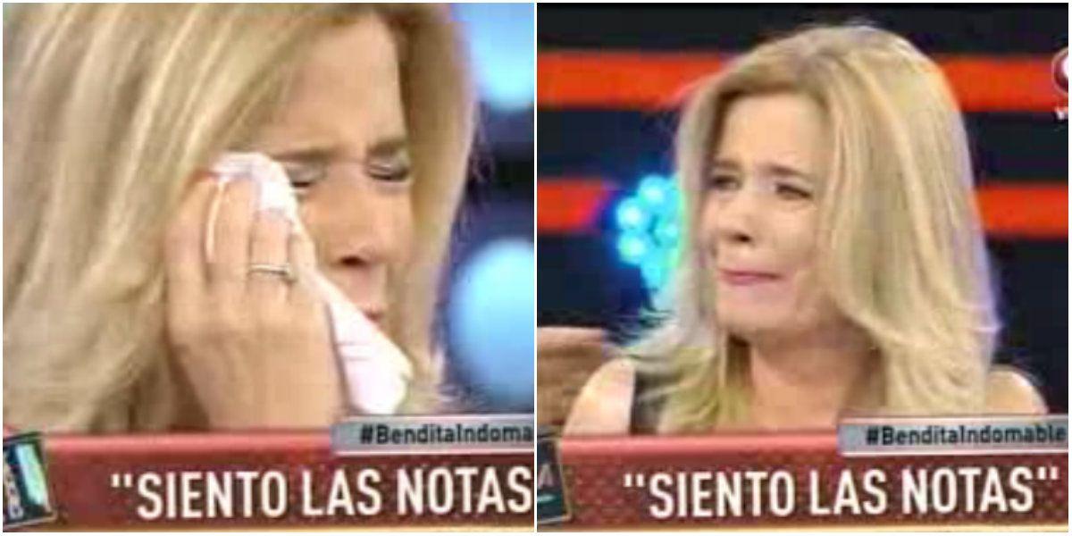 Los llantos de Mercedes Ninci al hablar de su profesión: Me gustaría morirme en una nota