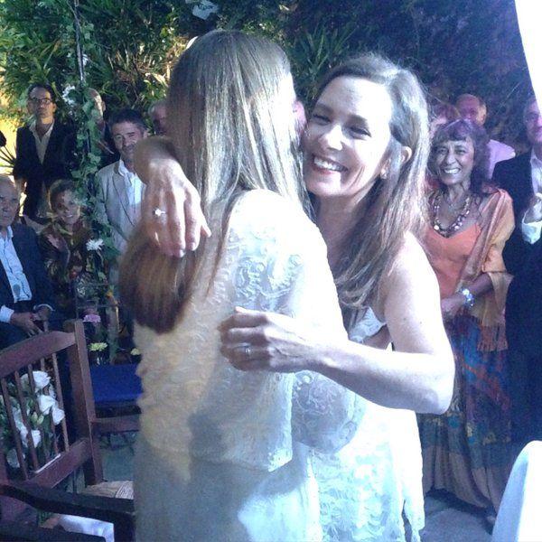 ¡Felicidades! Sandra Mihanovich se casó con Marita Novaro