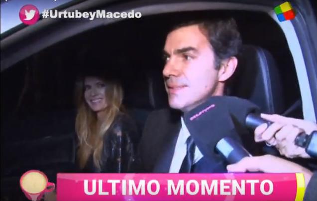 Isabel Macedo y Juan Manuel Urtubey, en su primera salida juntos: Seguro nos casamos
