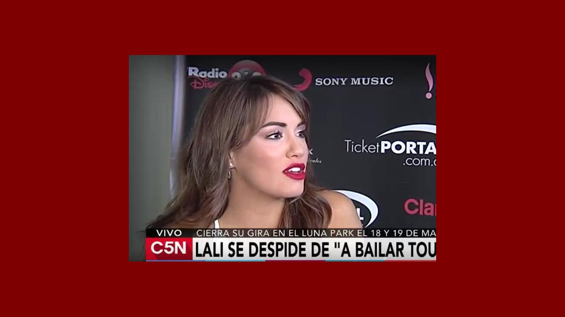 Lali Espósito se despide de su gira A Bailar Tour
