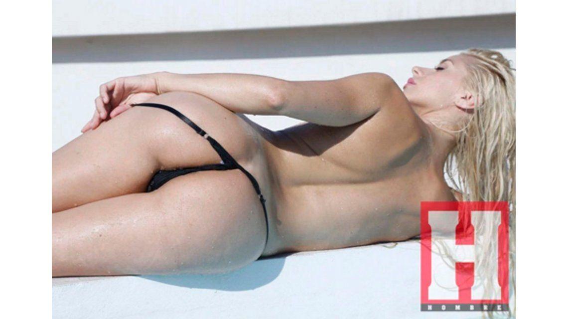 Carolina Ceballos, la supuesta ex de Andrés Ciro Martínez, al desnudo en una producción