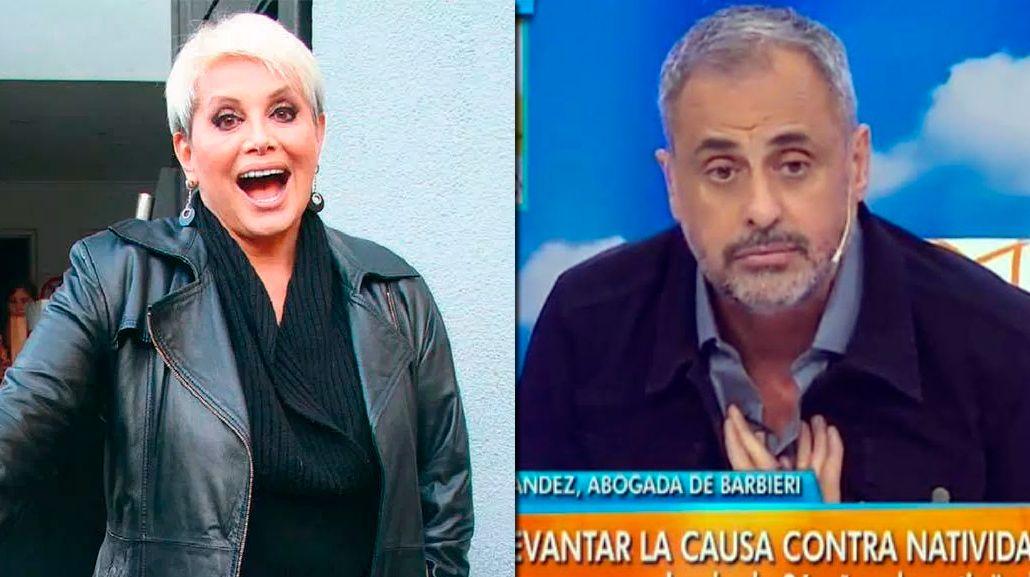 Cruce en vivo entre Carmen Barbieri y Jorge Rial por el escándalo de la empleada de la artista