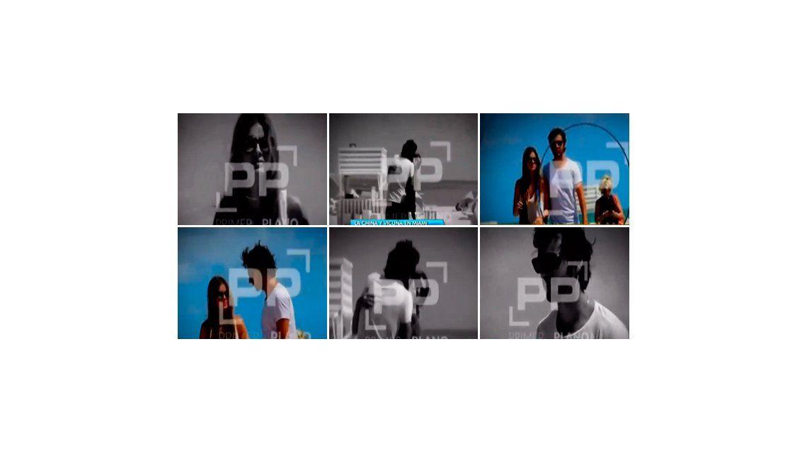 El video de la China Suárez y Benjamín Vicuña: ¡besos y arrumacos en la playa de Miami!