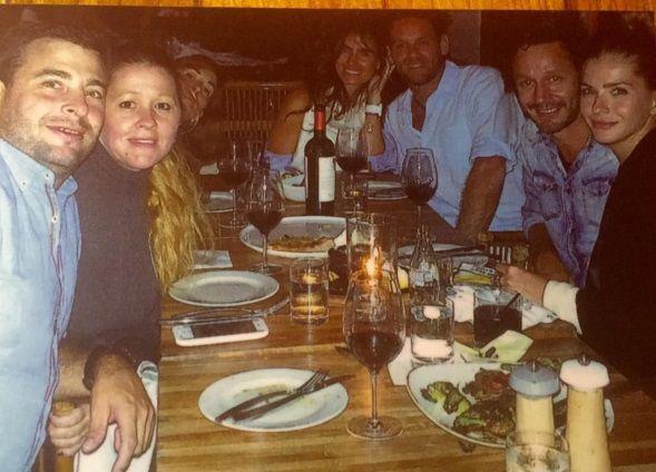La China Suárez celebró su cumpleaños con Benjamín Vicuña: la foto de su cena íntima