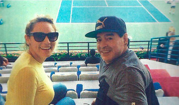 Vida soñada para Diego Maradona y Rocío Oliva: En Dubai estamos como queremos