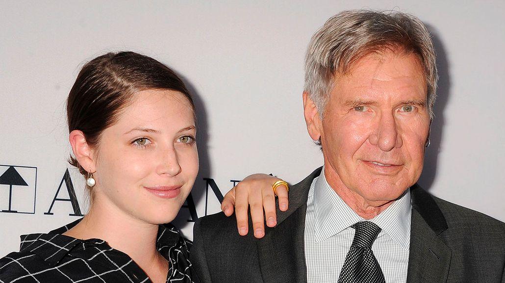 Con profundo dolor, Harrison Ford contó que su hija padece un serio trastorno neurológico
