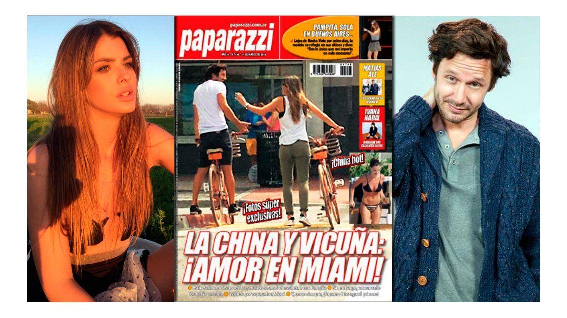 La primera foto de la China Suárez y Benjamín Vicuña juntos: bici, risas y complicidad en Miami