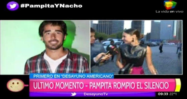 Pampita quiere formalizar con Nacho Viale y le tiró un palito a Vicuña y la China por el rumor de embarazo