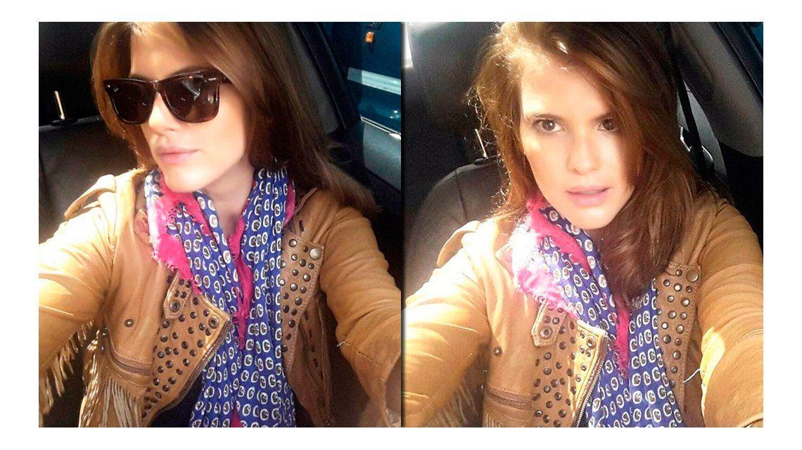 El cambio de look de María del Cerro: ¡súper castaño!