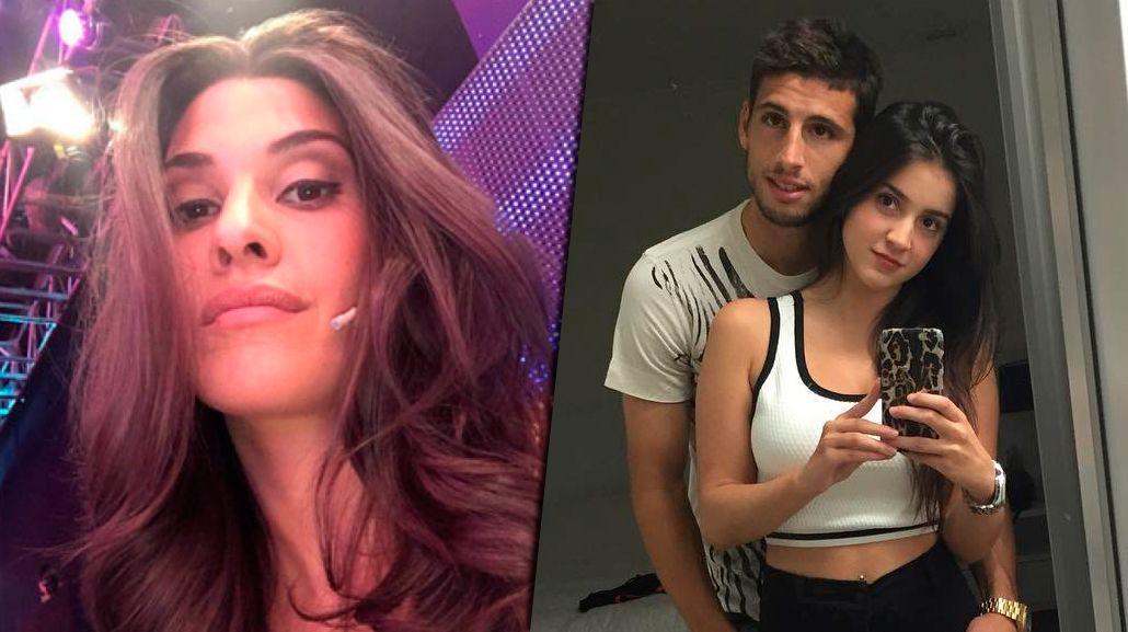 Con una foto, la novia de Jonathan Calleri se metió en el escándalo con Ivana Nadal