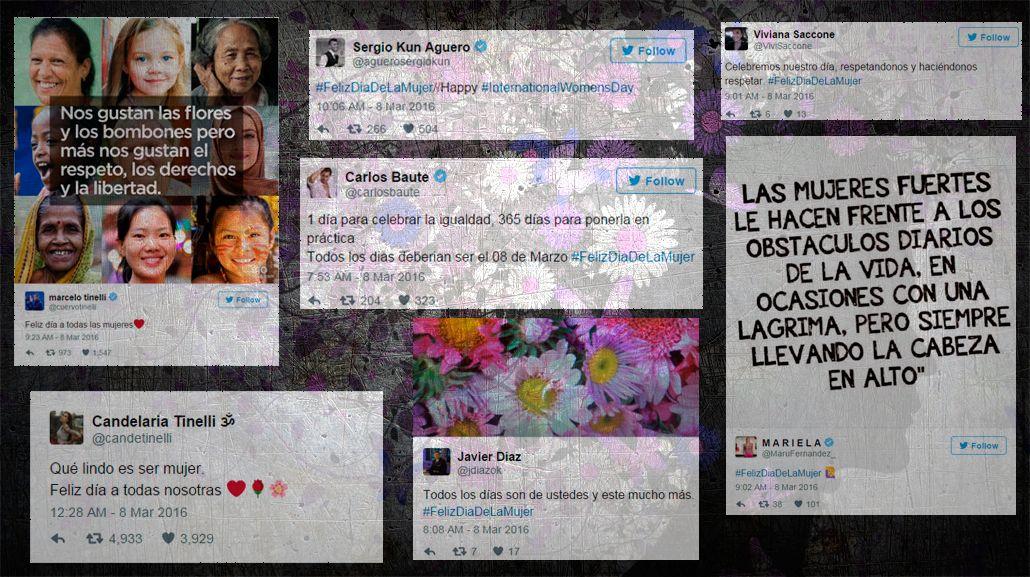 #FelizDiaDeLaMujer: los saludos de los famosos en las redes