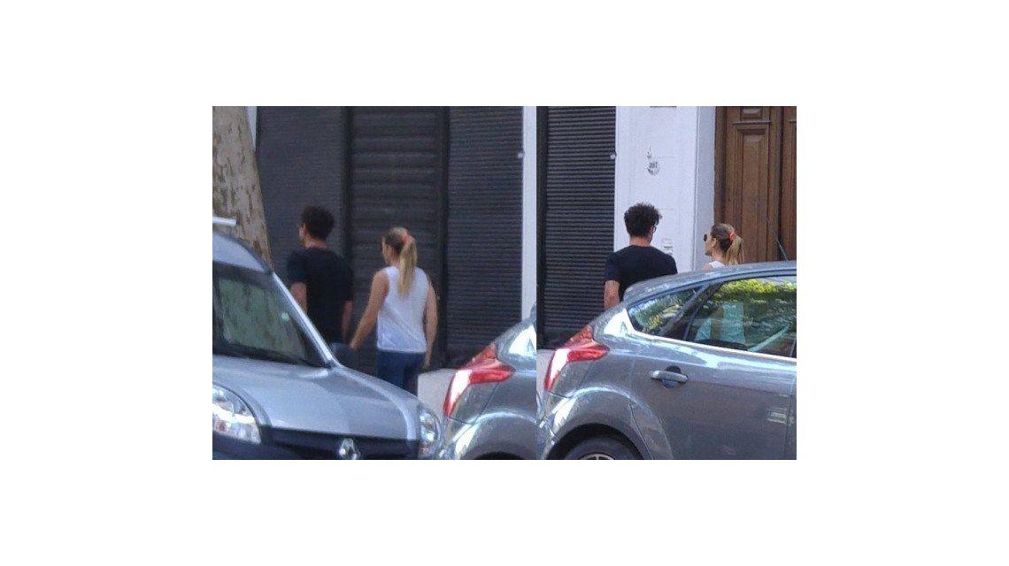 El reencuentro de Jimena Barón y Daniel Osvaldo:  mimos y besos en el hotel Faena