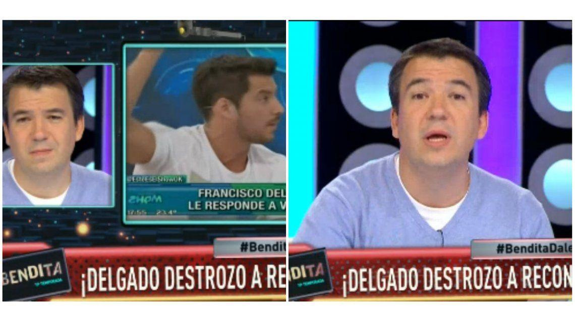 La respuesta de Gastón Recondo a Francisco Delgado, que le dijo machista y retrógrado