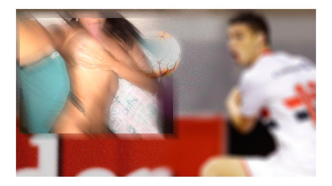 ¡El responsable! Un jugador de fútbol viralizó las fotos hot de Ivana Nadal