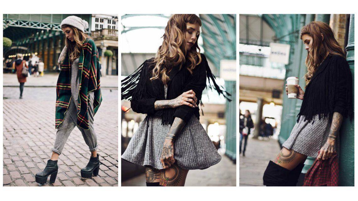 Candelaria Tinelli, modelo en Londres: mirá las fotos de su última campaña